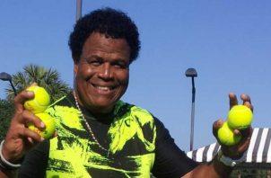 Juan Coronel, logró con Panamá ascender en la Copa Davis. Foto: Cortesía