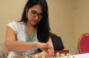 María Angélica Carrillo es una de las jugadoras del equipo panameño. Foto:Cortesía