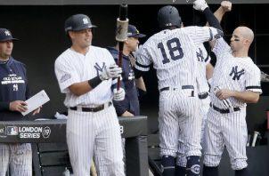 Los Yanquis de Nueva York es uno de los equipos de las Grandes Ligas. Foto:AP
