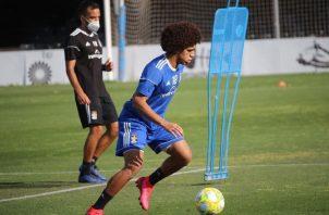 Adalberto 'Coco' Carrasquilla en los entrenamientos del Cartagena. Foto:@adalbertocarrasquilla18