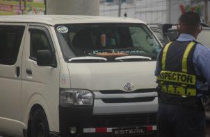 Los transportistas quieren reunirse con la ATTT y la Dirección de Tránsito de la Policía Nacional. Victor Arosemena.