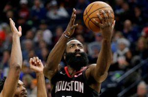 James Harden de los Rockets de Houston. Foto:EFE
