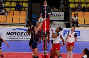 Selección femenina de Panamá en un torneo regional.Foto:Archivo