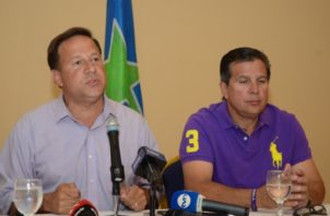"""Juan Carlos y José Luis """"Popi"""" Varela. Archivo"""