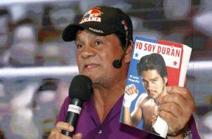 """Roberto """"Manos de Piedra"""" Durán Foto: EFE"""
