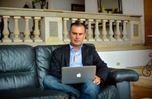 Fernando Anzures, CEO y fundador de EXMA, plataforma enfocada en la transformación digital. Cortesía