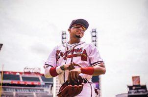 Johan Camargo de los Bravos de Atlanta Foto: Instagram