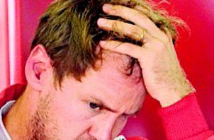 Vettel tuvo una mala jornada.
