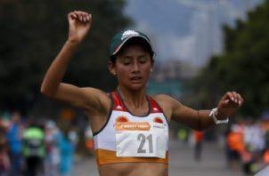 Angi Orjuela en un evento previo.