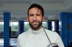 Esgrimista Arturo Dorati. Foto: Cortesía