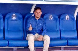 Luis Rojo, entrenó con las diferentes categorías y al equipo principal del Tenerife durante su estadía en la isla. Cortesía