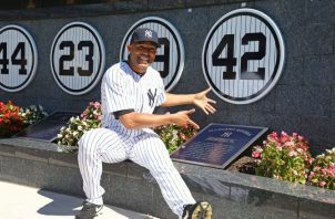 Mariano Rivera excerrador de los Yanquis de Nueva York. Foto:EFE