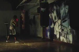 """El reconocido gimnasio Pedro """"Rockero"""" Alcázar fue el sitio empleado para la campaña. Cortesía"""
