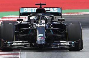 Lewis Hamilton es el actual líder de la Fórmula Uno. Foto:EFE