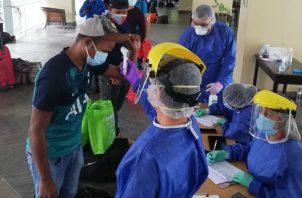 Mientras los mineros estén en aislamiento preventivo, personal médico realizará un monitoreo diario. Cortesía