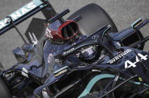 Lewis Hamilton lidera la clasificación en la actual temporada en la Fórmula Uno. Foto:EFE
