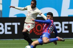 Alberto 'Negrito' Quintero (19) salió de titular ayer en el equipo crema. Foto@Universitario