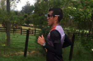 Jorge Castelblanco, entrena en la altura en Colombia desde antes de la llegada de la pandemia de coronavirus. Cortesía