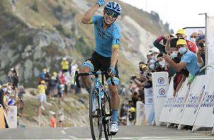 El ciclista colombiano Miguel Ángel López. Foto:EFE