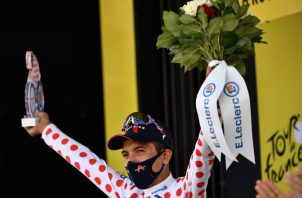 1- El esloveno Primoz Roglic es el líder del Tour y sigue con la amarilla. Fotos:EFE