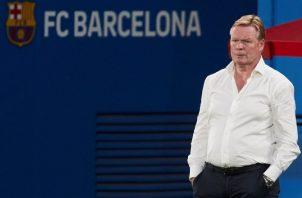 El holandés Ronald Koeman vuelve a pisar al Camp Nou. Foto:EFE