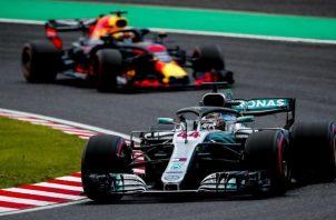 El piloto inglés Lewis Hamilton. Foto:EFE