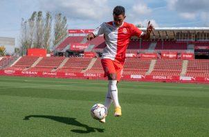 Edgar Yoel Bárcenas. Foto:@GironaFC