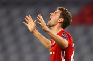 Thomas Müller del Bayern. Foto:EFE