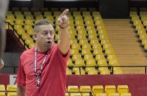 David Rosario, técnico de Panamá.