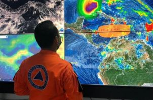Centro de Coordinación de Emergencia da seguimiento a onda tropical #46. (Foto: Cortesía SerTv)