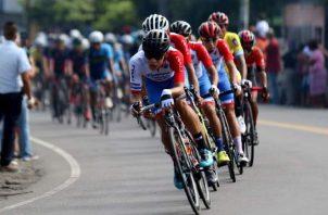 Selección de ciclismo de Panamá. Foto:EFE