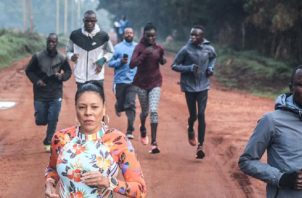 Ayenza Matthews fue a entrenar y estudiar a Kenia. Cortesía