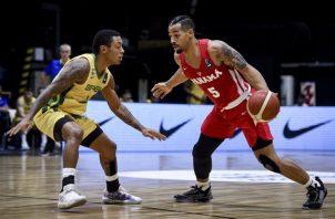 El equipo panameño perdió ayer ante Brasil. Foto:Fepaba