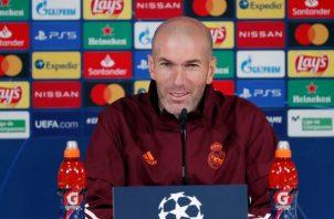 Zidane. Foto:EFE