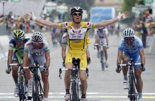 El exciclista italiano Riccardo Riccó. Foto:EFE