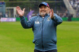 Diego Maradona falleció el 25 de noviembre. Foto:EFE