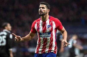 Diego Costa no seguirá en Atlético Madrid. Foto:EFE