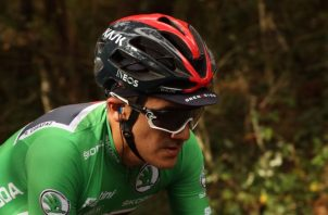 El ciclista ecuatoriano Richard Carapaz. Foto:EFE