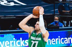 El esloveno Luka Doncic. Foto: @dallasmavs
