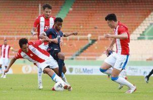 República Dominicana perdió ayer ante Puerto Rico por la mínima. Foto:@sedofutbol