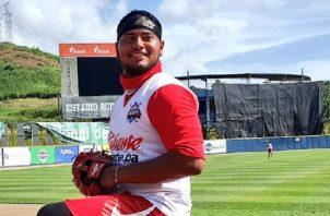 Jaime Barría estará con Panamá en la Serie del Caribe. Foto:@Probeis
