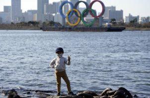 Las argollas de los Juegos Olímpicos. Foto:EFE