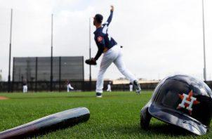 Los Astros de Houston en pretemporada. Foto: @LosAstros