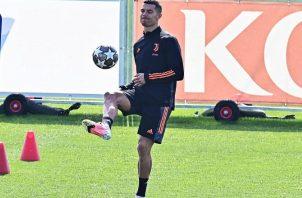 Cristiano Ronaldo es el referente goleador de la Juventus. Foto:EFE