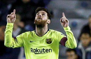 Messi puede ser la diferencia entre el Barcelona y el PSG. Foto:EFE