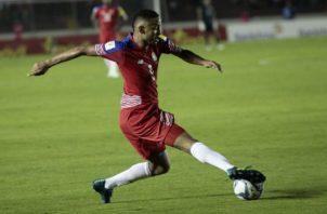 Gabriel Torres es uno de los referentes en el ataque del seleccionado panameño. Foto:EFE