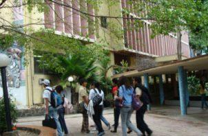 Sede de Facultad de Comunicación de la Universidad de Panamá.