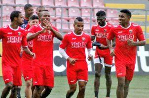 Jugadores de Plaza Amador en los entrenamientos Foto: Twitter
