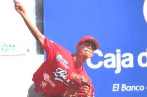 El estelar coclesano Felipe Torres se llevó el triunfo ante Darién. Foto:Fedebeis