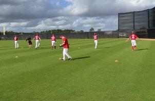 Nacionales durante los entrenamientos. Foto:@Nations